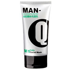 [MAN-Q] M1 Men's Mud Scrub Daily Facial Wash For Oily Skin 100g NEW