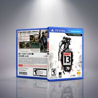 Unit 13 - PlayStation Vita Cover and Case. NO GAME!!