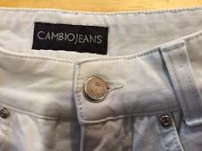 Cambio Jeans women's waist 23 inseam 29 ½ stretch colored mid rise straight
