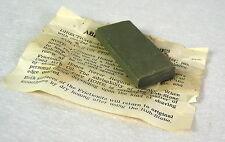 """Vintage Frictionite Abrasive Rub Stone """"For Use On Frictionite Razor Hones"""""""