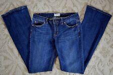 Aeropostale Hailey Flare Junior Women's Blue Denim Jeans sz 3/4 Reg 28 x 33