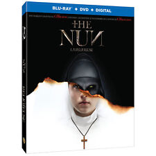 The Nun (Blu-ray, 2018) NEVER WATCHED BLU-RAY DISC ONLY W/ CASE AND SLIPCOVER