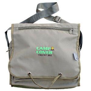 Camp Cover Toiletry Bag - 26 x 31 x 8 cm - Khaki Ripstop - CCK005-A