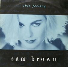"SAM BROWN - THIS FEELING / SOLDIERS  -  7""  - 45 RPM  -"