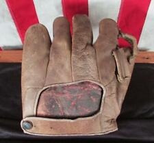 Vintage 1940s Wilson Victoria Leather Baseball Glove Mexico Made Hercules Rare!