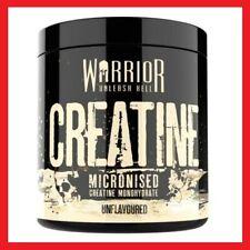 WARRIOR CREATINE MONOHYDRATE POWDER 300g 100% PURE MICRONIZED GYM MUSCLE GAIN