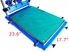 3D Micro-Registration Silk Screen Printing Press for PCB Metal Plate SingleColor