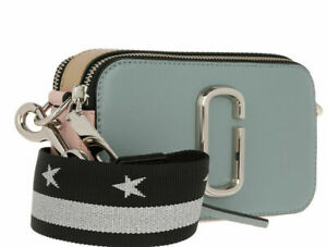 Marc Jacobs Snapshot Small Camera Bag Crossbody  Dolphin Blue sales ..