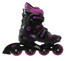 No Fear Girls Inline Skates Uk Size 1-4 Eu 33-37 Purple/Black New Other