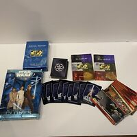 Mixed Star Wars TCG CCG And Trading Card Lot Widevision Dark Side Starter Deck