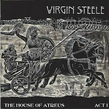 Virgin Steele/House of Atreus Act I-Kingdom of the Fearless * NEW CD * NUOVO *
