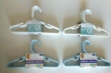 Delta Nursery Hangers 2 Packs of 10 (blue) 2 Packs of 10( White)Bed Bath Beyond