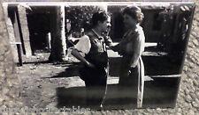 "Charlie Chaplin & Helen Keller Vintage Photo 2"" x 3"" Refrigerator Locker MAGNET"