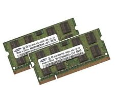 2x 2GB 4GB RAM 800 Mhz DDR2 per Dell Vostro 1400 1500 1510 1520 SAMSUNG SO-DIMM