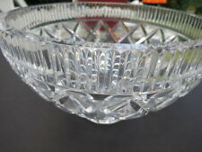 Waterford Crystal glass bowl-footed-never used 9.5 x6.25