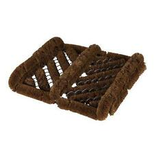 Heavy duty Herringbone coir boot wiper, Strong and Rigid Well Made Shoe Cleaner