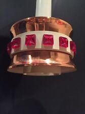 1960's Vintage Pendant Light Lamp Copper Retro Scandi Furniture Mid Century