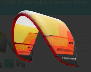 Cabrinha Contra Kite, 13m, Lightwind kite, great for foiling and waves.