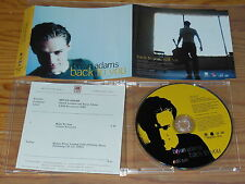 BRYAN ADAMS - BACK TO YOU / 1 TRACK MAXI-CD 1997 & INFO-FACTS