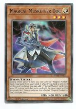 Magical Musketeer Doc SPWA-EN017 Super Rare Yu-Gi-Oh Card 1st Edition New