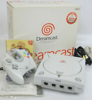 Dreamcast Console System Boxed NEAR MINT HKT3000 SEGA FREE SHIP 011473016221