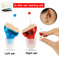 Mini in Ear Hearing Aid Invisible Digital CIC Sound Voice Amplifier Ear Aids Kit