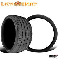 2 X New Lionhart LH-Five 235/35R19 91W Passenger All-Season Tires