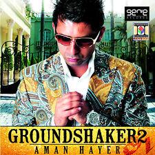 AMAN HAYER - GROUND SHAKER 2  - BRAND NEW BHANGRA CD