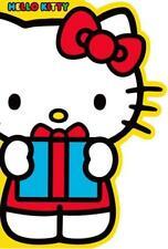 HELLO KITTY BIRTHDAY CARD HOLDING PRESENT NEW GIFT