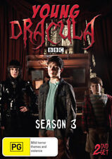 Young Dracula - Season 3 NEW PAL Cult 2-DVD Set Joss Agnew Keith-Lee Castle