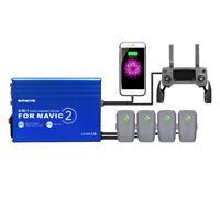 DJI Mavic 2 Pro/Zoom Battery Charger Hub 6 in 1 Charging Hub