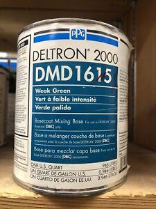 PPG DMD 1615  Deltron DBU, DBC  Weak  Green   Mixing Base  QT