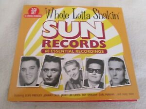 SUN RECORDS 3 DISC CDS SET ELVIS ETC ETC