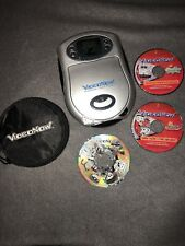 Video Now Personal Video player Silver Color 2003 With Discs