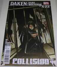 DAKEN: DARK WOLVERINE #9 (Marvel Comics 2011) vs X-23 (VF-) COLLISION