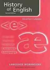 History of English by Jonathan Culpeper (2005, Paperback, Revised) 9780415341844
