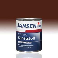 Jansen Flüssig Kunststoff nußbraun 8011 0,75l Flüssigkunststoff