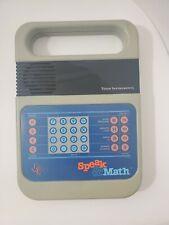 Vintage 1980 Texas Instruments Electronic Speak & Math Missing Back Cover