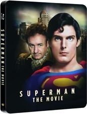 SUPERMAN THE MOVIE 1978 RARA STEELBOOK Blu-ray AUDIO ITALIANO