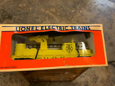 Lionel O-GAUGE: Fire Car (Yellow) with ladders  6-16660 MIB