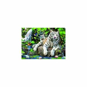 RARE White Tigers 15 Piece Jigsaw Puzzle By Sunsout