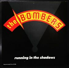 """The Bomber""""S Running In The Shadows Picture Cover 7"""" Single Status Quo, Angels"""