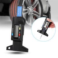 Digital LCD Tiefenmesser Auto Reifen Reifenprofil Bremsbelag Schuh Pad Tragen