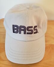 NEW B.A.S.S. Bassmaster BASS, ESPN, Fishing Hat Cap, Embroidered, Textured