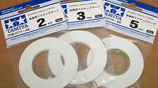 Tamiya Masking Tape for Curves 2mm 3mm & 5mm Combo Pack 87177 87178 87179