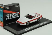 The a Team Chevrolet C4 White Red Stripes Movie 1:43 Greenlight