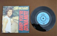 "Cliff Richard - Baby you're dynamite 7"" Vinyl PS"