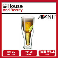 NEW Avanti Top Up!!! Twin Wall Beer Glass 400ml 15454
