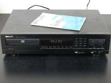 Vintage PHILIPS CD Player CD730 + manual