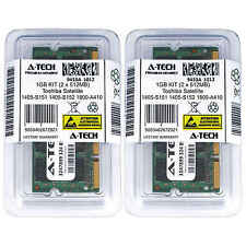 1GB KIT 2 x 512MB Toshiba Satellite 1405-S151 1405-S152 1800-A410 Ram Memory